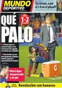 Portada Mundo Deportivo del 17 de Abril de 2014