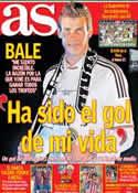 Portada diario AS del 18 de Abril de 2014