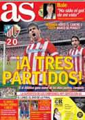 Portada diario AS del 19 de Abril de 2014