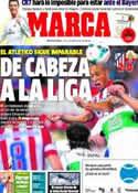 Portada diario Marca del 19 de Abril de 2014