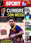 Portada diario Sport del 19 de Abril de 2014