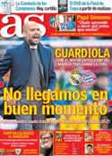 Portada diario AS del 20 de Abril de 2014