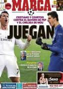 Portada diario Marca del 20 de Abril de 2014