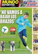 Portada Mundo Deportivo del 20 de Abril de 2014