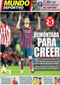 Portada Mundo Deportivo del 21 de Abril de 2014