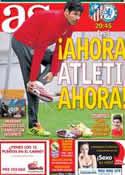 Portada diario AS del 22 de Abril de 2014