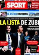 Portada diario Sport del 22 de Abril de 2014