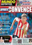 Portada Mundo Deportivo del 22 de Abril de 2014