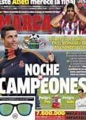 Portada diario Marca del 23 de Abril de 2014
