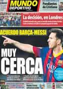 Portada Mundo Deportivo del 23 de Abril de 2014