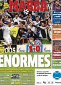 Portada diario Marca del 24 de Abril de 2014