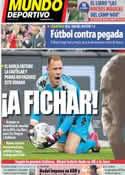 Portada Mundo Deportivo del 24 de Abril de 2014
