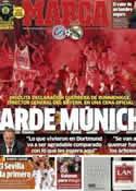 Portada diario Marca del 25 de Abril de 2014