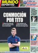 Portada Mundo Deportivo del 25 de Abril de 2014