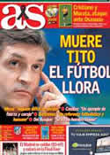 Portada diario AS del 26 de Abril de 2014