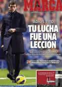 Portada diario Marca del 26 de Abril de 2014