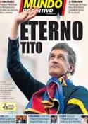 Portada Mundo Deportivo del 26 de Abril de 2014