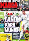 Portada diario Marca del 27 de Abril de 2014