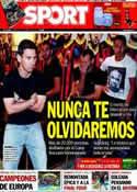 Portada diario Sport del 27 de Abril de 2014