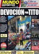 Portada Mundo Deportivo del 27 de Abril de 2014