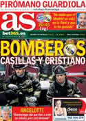 Portada diario AS del 29 de Abril de 2014