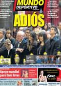 Portada Mundo Deportivo del 29 de Abril de 2014