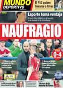 Portada Mundo Deportivo del 30 de Abril de 2014