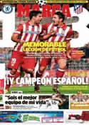 Portada diario Marca del 1 de Mayo de 2014