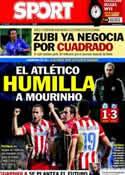 Portada diario Sport del 1 de Mayo de 2014