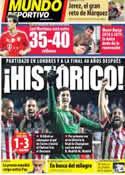 Portada Mundo Deportivo del 1 de Mayo de 2014
