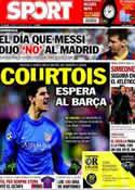 Portada diario Sport del 2 de Mayo de 2014