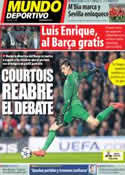 Portada Mundo Deportivo del 2 de Mayo de 2014