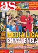 Portada diario AS del 4 de Mayo de 2014