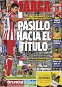 Portada diario Marca del 4 de Mayo de 2014