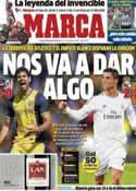 Portada diario Marca del 5 de Mayo de 2014