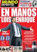 Portada Mundo Deportivo del 5 de Mayo de 2014
