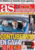 Portada diario AS del 6 de Mayo de 2014