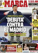 Portada diario Marca del 6 de Mayo de 2014