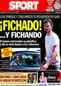 Portada diario Sport del 6 de Mayo de 2014