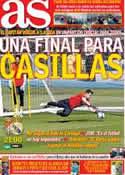 Portada diario AS del 7 de Mayo de 2014