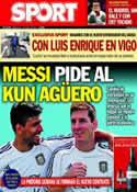 Portada diario Sport del 7 de Mayo de 2014