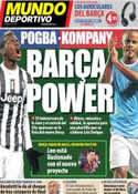 Portada Mundo Deportivo del 7 de Mayo de 2014