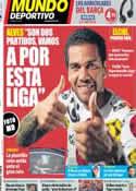 Portada Mundo Deportivo del 9 de Mayo de 2014