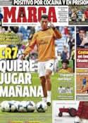 Portada diario Marca del 10 de Mayo de 2014