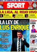 Portada diario Sport del 10 de Mayo de 2014