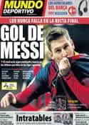 Portada Mundo Deportivo del 10 de Mayo de 2014