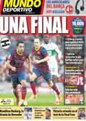 Portada Mundo Deportivo del 11 de Mayo de 2014