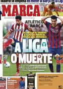 Portada diario Marca del 12 de Mayo de 2014