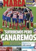 Portada diario Marca del 13 de Mayo de 2014