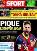 Portada diario Sport del 13 de Mayo de 2014